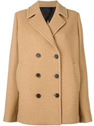 Msgm Classic Peacoat Nude And Neutrals