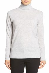 Nordstrom Cashmere Turtleneck Sweater Gray