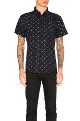 Naked And Famous S S Button Down Navy