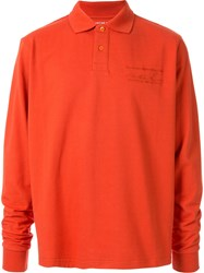 Martine Rose Long Sleeved Polo Shirt 60