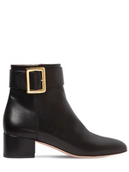 Bally 40Mm Jay Leather Ankle Boots Black