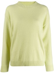 Laneus Round Neck Jumper Green