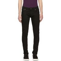 Nudie Jeans Black Tight Terry