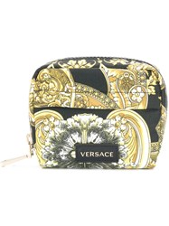 Versace Small Baroque Make Up Bag Multicolour
