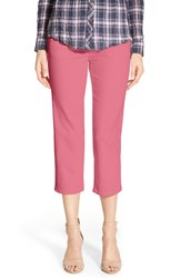 Petite Women's Jag Jeans 'Echo' Pull On 5 Pocket Crop Pants Blossom