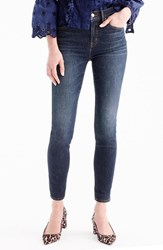 J.Crew 'S High Rise Toothpick Jeans Solano Wash
