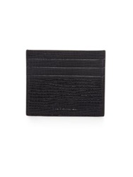 Jil Sander Credit Card Holder Dark Red Navy