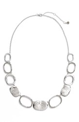 Judith Jack Collar Necklace Silver