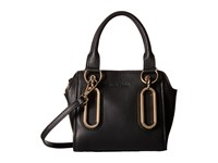 See By Chloe Natural Grain Crossbody Black Satchel Handbags
