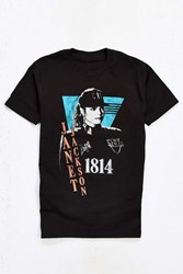 Urban Outfitters Janet Jackson Rhythm Nation Tee Black