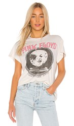 Madeworn Pink Floyd In Quadrophonic Sound Tee In Cream. Off White
