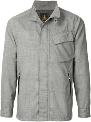 Hysteric Glamour Checkered Jacket Grey