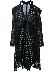 Kitx 'Layered Kimono Release' Dress Black
