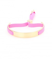 Marc By Marc Jacobs Small Ribbon Friendship Bracelet Pink