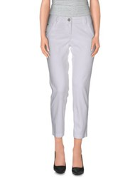 Jacob Cohen Jacob Coh N Trousers 3 4 Length Trousers Women White