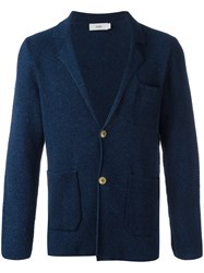 Closed Knitted Blazer Cardigan Blue