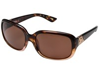 Costa Gannet Shiny Tortoise Fade Frame Copper 580P Sport Sunglasses Brown