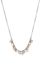 Konplott Waterfalls Necklace Beige Antiksilberfarben