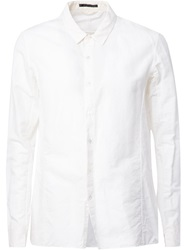 The Viridi Anne The Viridi Anne Boxy Fit Shirt White