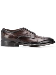 Officine Creative Canyon Derby Shoes Brown