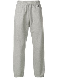 Kenzo Embroidered Tiger Track Pants Grey