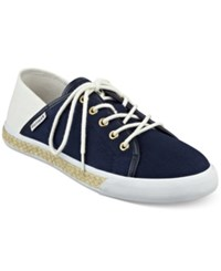 Tommy Hilfiger Flip Sneakers Women's Shoes Navy White