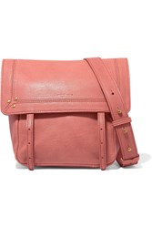 Jerome Dreyfuss Jeremie Small Textured Leather Shoulder Bag Antique Rose