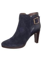 Pier One Ankle Boots River Dark Blue