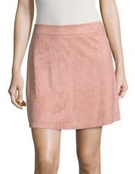 Highline Collective Fitted Mini Skirt Pink