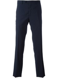 Etro Straight Leg Trousers Blue