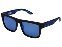 Spy Optic Discord Soft Matte Black Navy Tort Happy Gray Green Dark Blue Spectra Sport Sunglasses