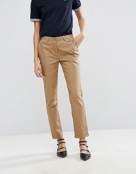 Fred Perry Archive Skinny Chino Washed Rubber Beige