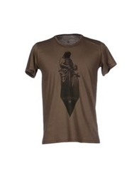 Misericordia T Shirts Military Green
