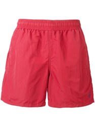 Polo Ralph Lauren Elasticated Swim Shorts Red