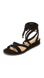Cynthia Vincent Patience Sandals Black
