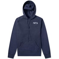 Patta Military Logo Hoody Blue