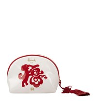 Harrods Chinese Year Of The Dog Cosmetic Case 2018 Ivory