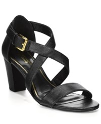 American Living London Sandals A Macy's Exclusive Style Black