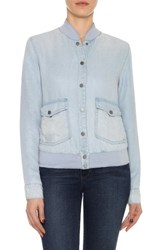 Joe's Jeans Women's Briggite Chambray Bomber Jacket