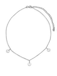 Argentovivo Sterling Silver Choker Necklace