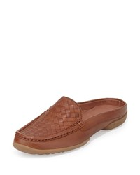 Donald J Pliner Vode Woven Mule Slide Saddle