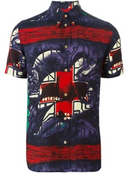 Jean Paul Gaultier Vintage 'Pin Up Boys' Shirt Black