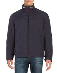 Bugatti Nylon Bomber Jacket Blue