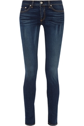 Rag And Bone The Skinny Mid Rise Jeans