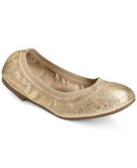 Aerosoles Fable Flats Women's Shoes Champagne Leather
