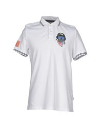Fred Mello Topwear Polo Shirts Men White