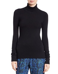 French Connection Bambi Turtleneck Top Black