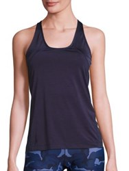 Hpe Xt Air Racerback Tank Top Navy