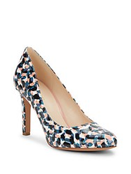 Nine West Gramercy Printed Pumps Turquoise Multi