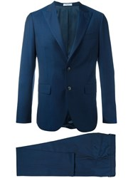 Boglioli Dinner Suit Blue